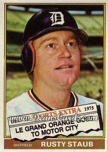 1976 Topps Traded #120 T Rusty Staub