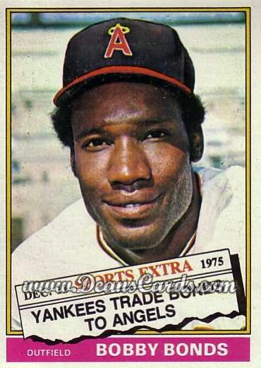 1976 Topps Traded #380 T Bobby Bonds