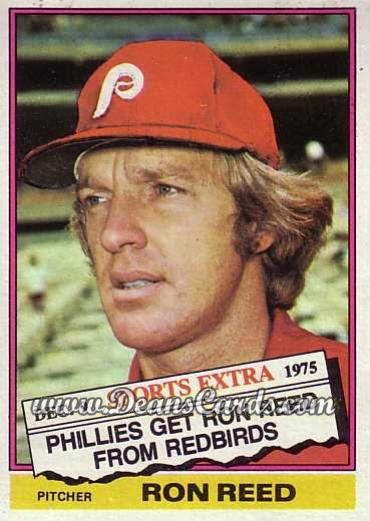 1976 Topps Traded #58 T Ron Reed