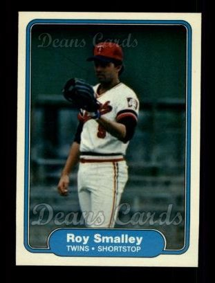 1982 Fleer #560  Roy Smalley