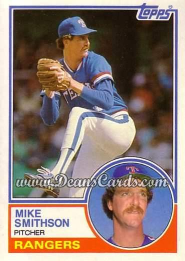 1983 Topps Traded #106 T Mike Smithson