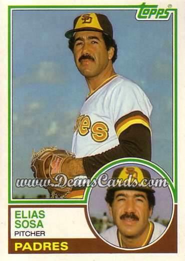 1983 Topps Traded #107 T Elias Sosa