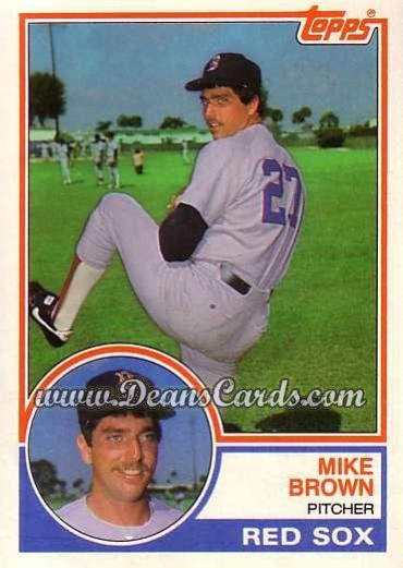 1983 Topps Traded #15 T Mike Brown