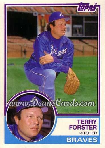 1983 Topps Traded #33 T Terry Forster