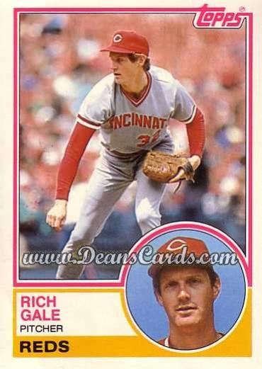 1983 Topps Traded #35 T Rich Gale