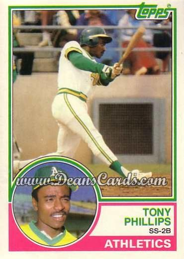 1983 Topps Traded #87 T Tony Phillips