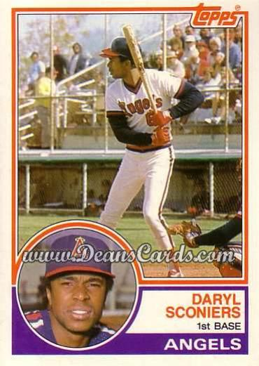 1983 Topps Traded #99 T Daryl Sconiers