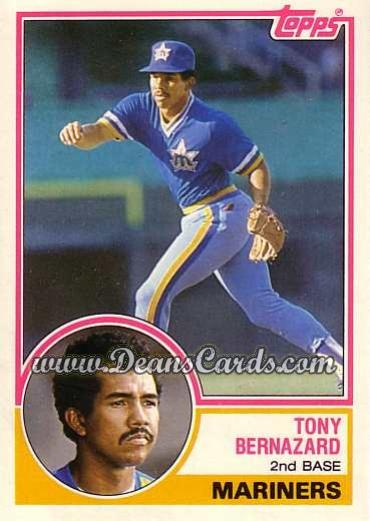 1983 Topps Traded #9 T Tony Bernazard