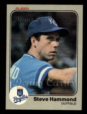 1983 Fleer #114  Steve Hammond