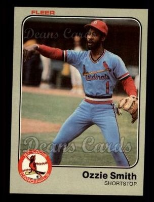 1983 Fleer #22  Ozzie Smith