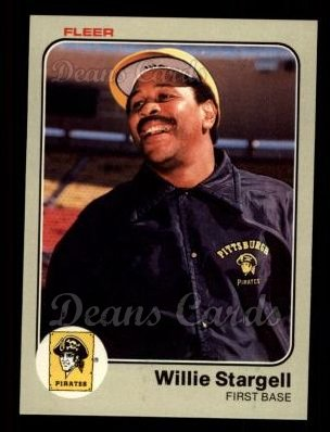 1983 Fleer #324  Willie Stargell