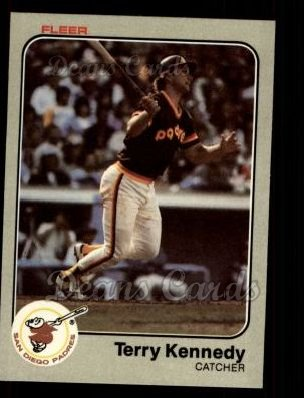 1983 Fleer #362  Terry Kennedy