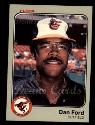 1983 Fleer #61  Dan Ford