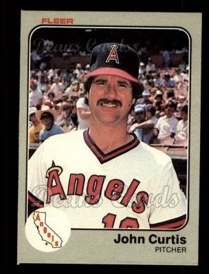 1983 Fleer #84  John Curtis