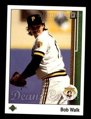 1989 Upper Deck #438  Bob Walk