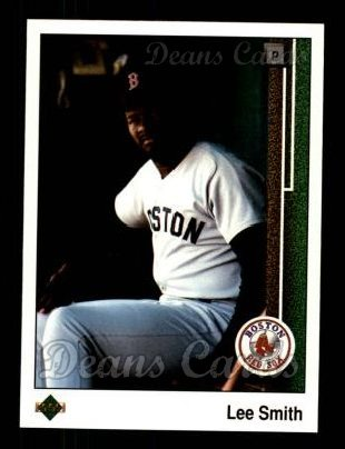 1989 Upper Deck #521  Lee Smith