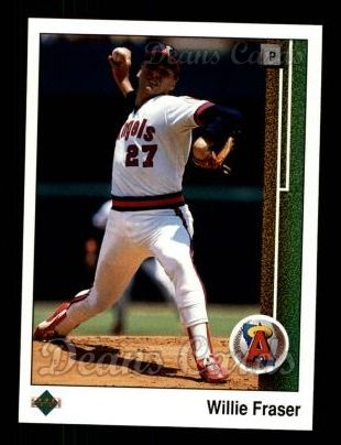 1989 Upper Deck #613  Willie Fraser