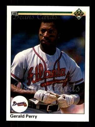 1990 Upper Deck #101  Gerald Perry