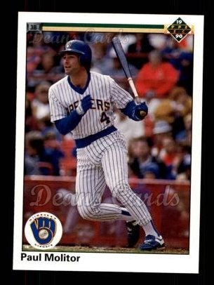1990 Upper Deck #254  Paul Molitor