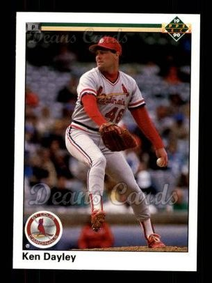 1990 Upper Deck #280  Ken Dayley