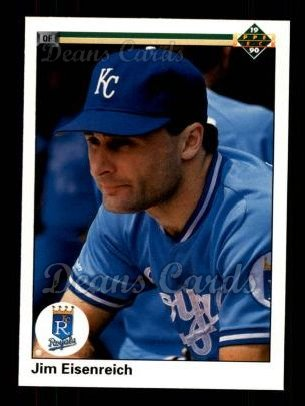 1990 Upper Deck #294  Jim Eisenreich