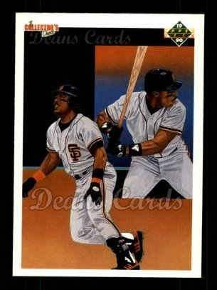 1990 Upper Deck #40   -  Kevin Mitchell San Francisco Giants Team