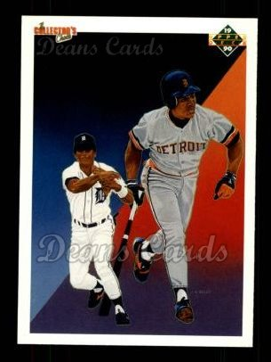 1990 Upper Deck #41   -  Lou Whitaker Detroit Tigers Team