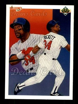 1990 Upper Deck #48   -  Kirby Puckett Minnesota Twins Team