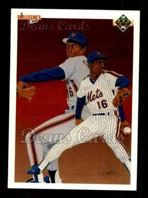 1990 Upper Deck #62   -  Dwight Gooden New York Mets Team