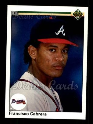 1990 Upper Deck #64  Francisco Cabrera