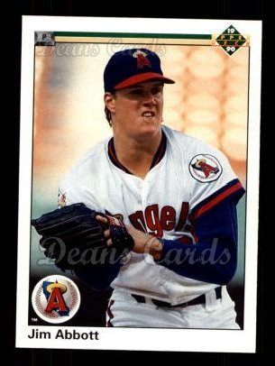 1990 Upper Deck #645  Jim Abbott