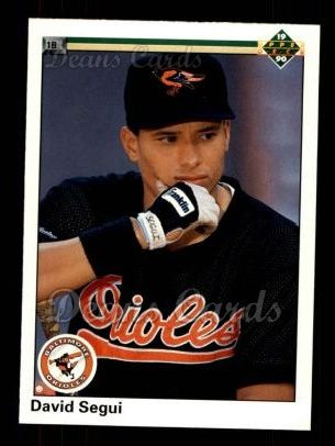 1990 Upper Deck #773  David Segui