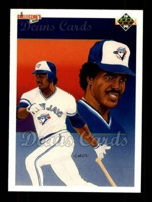 1990 Upper Deck #95   -  George Bell Toronto Blue Jays Team