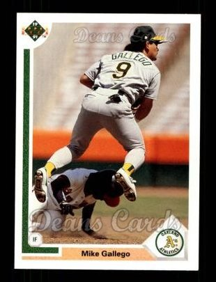 1991 Upper Deck #151  Mike Gallego