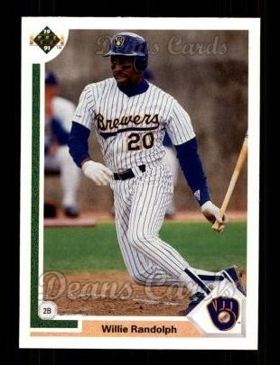 1991 Upper Deck #720  Willie Randolph