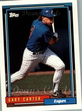 1992 Topps Traded #22 T Gary Carter