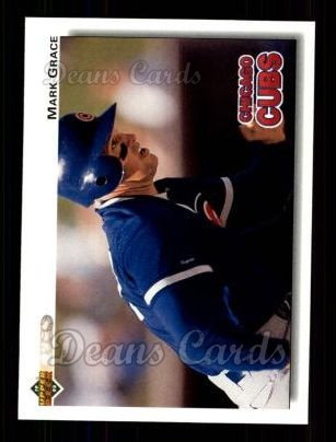 1992 Upper Deck #143  Mark Grace