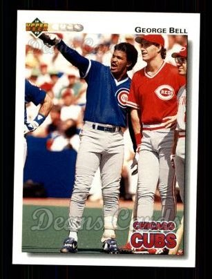 1992 Upper Deck #236  George Bell