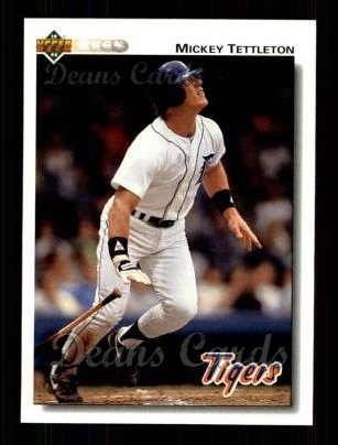 1992 Upper Deck #251  Mickey Tettleton