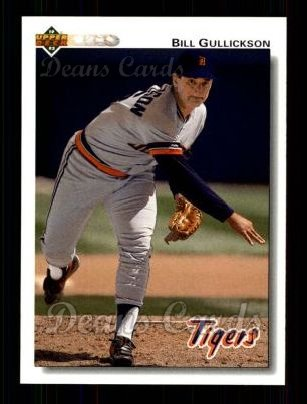 1992 Upper Deck #317  Bill Gullickson
