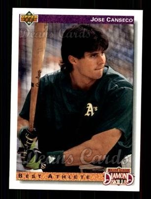 1992 Upper Deck #649  Jose Canseco