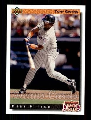 1992 Upper Deck #717  Tony Gwynn