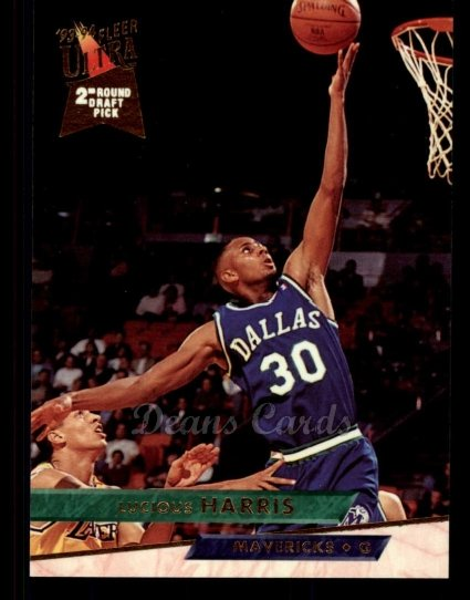 1993 Fleer Ultra #231  Lucious Harris