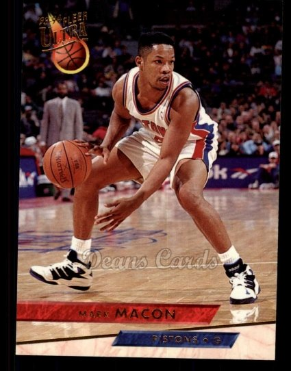 1993 Fleer Ultra #245  Mark Macon