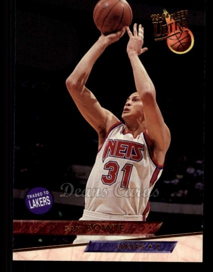 1993 Fleer Ultra #92  Sam Bowie