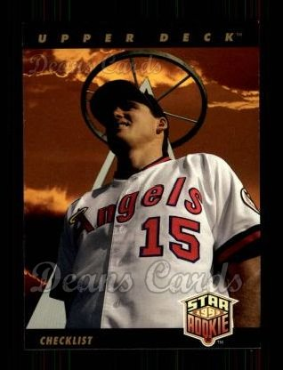 1993 Upper Deck #1  Tim Salmon