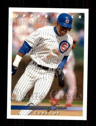 1993 Upper Deck #127  Sammy Sosa