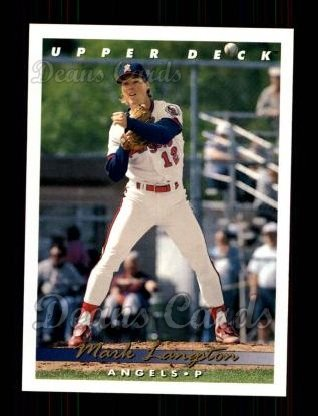 1993 Upper Deck #128  Mark Langston