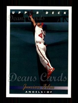 1993 Upper Deck #157  Junior Felix