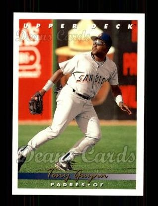 1993 Upper Deck #165  Tony Gwynn